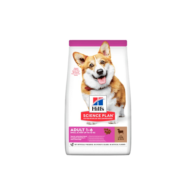 Science Plan Canine Adult Small & Miniature Agnello 1,5KG