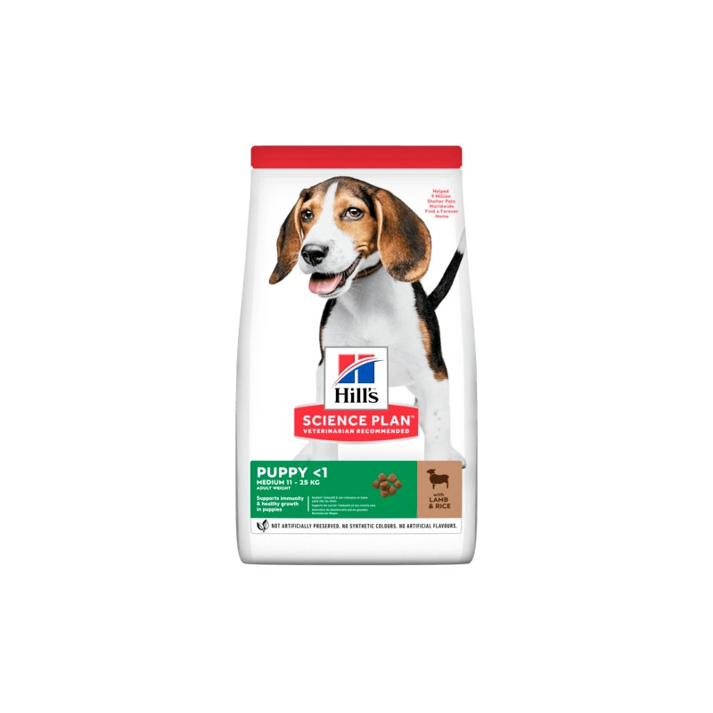 Science Plan Canine Puppy Agnello 2,5KG