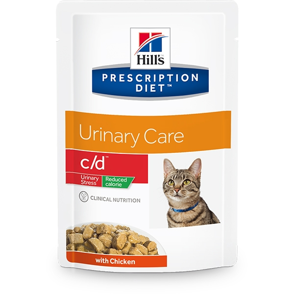 Prescription Diet Feline c/d Urinary Stress Reduced Calorie Pollo 85gr