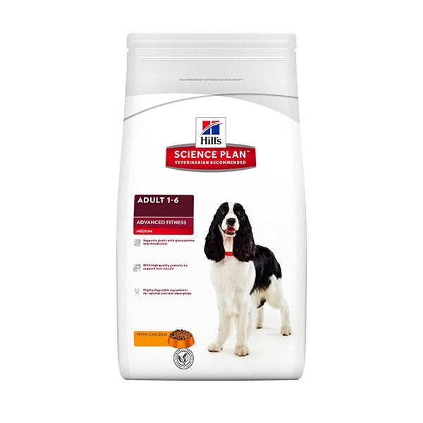 Science Plan Advanced Fitness Canine Adult Medio Pollo 2.5kg