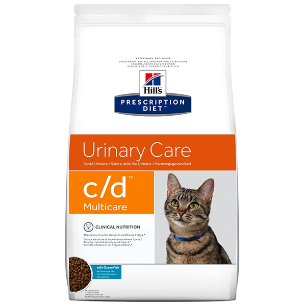 Prescription Diet Feline C/D Pesce Oceanico 5Kg