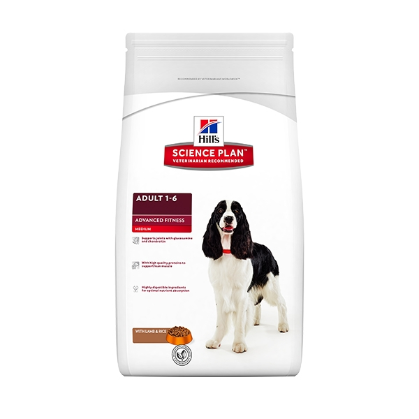 Science Plan Advanced Fitness Canine Adult Agnello  3KG