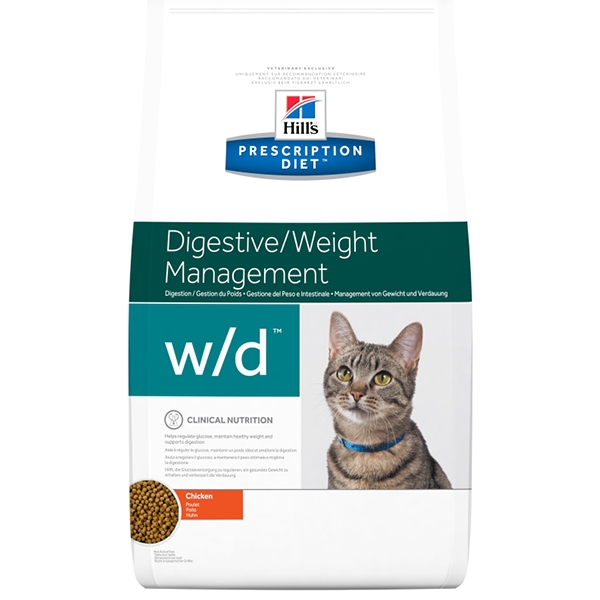 Prescription Diet Feline W/D  1,5 Kg