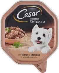 Cesar Ricette di Campagna Manzo Tacchino Salsa 150 gr