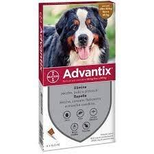 Advantix Spot-On per Cani oltre 40kg 4 pipette 4 pipette x 6,0 ml