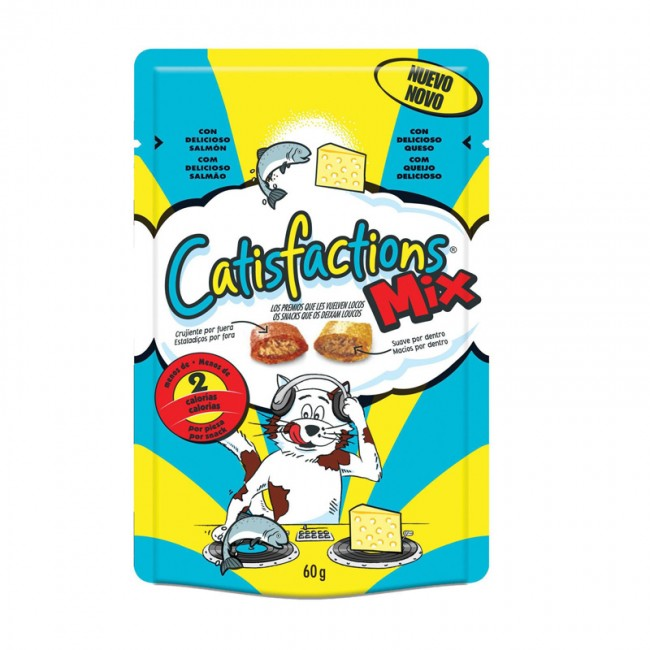 Catisfactions Mix Salmone e Formaggio 60 gr