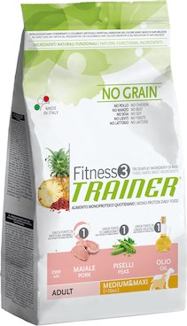 Trainer Fitness3 Adult M/M Pork & Peas	3kg