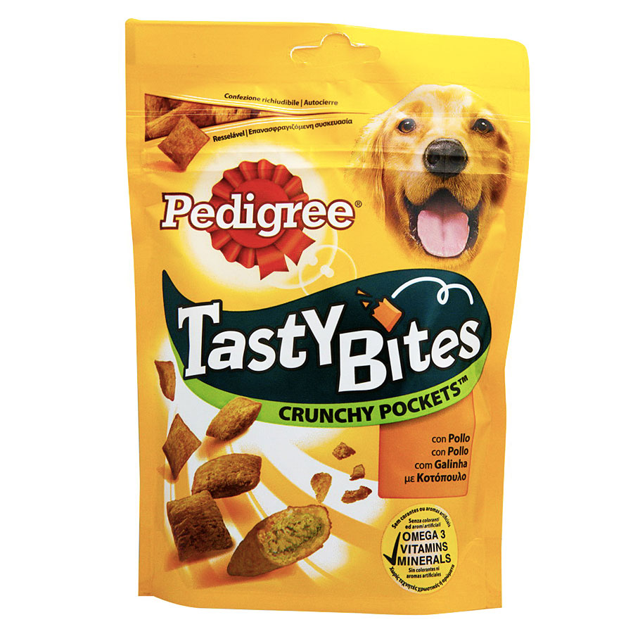 Pedigree Tasty Bites Crunchy Pockets 95 gr
