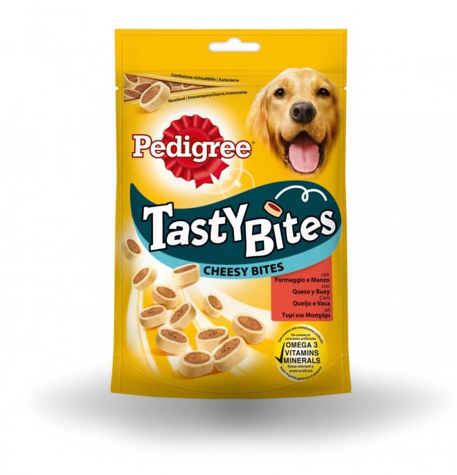 Pedigree Tasty Bites Cheesy Bites 140 gr