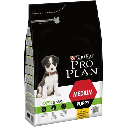 MEDIUM PUPPY OPTISTART	3kg