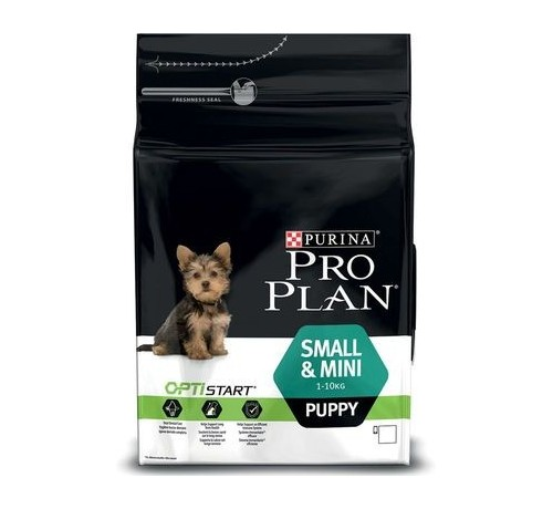 SMALL&MINI PUPPY OPTISTART	3kg
