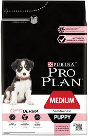 MEDIUM PUPPY SENSITIVE SKIN OPTIDERMA 	3kg