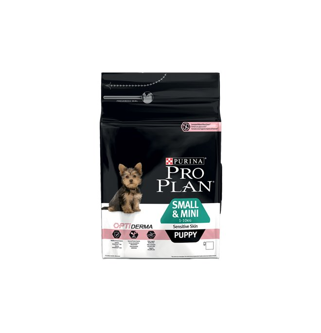 SMALL&MINI PUPPY SENSITIVE OPTIDERMA 	700g