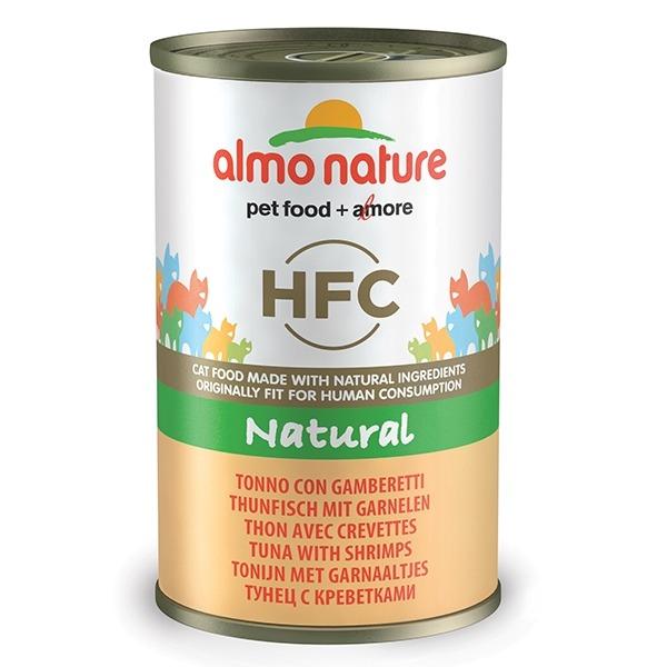 Almo Natural - Tonno e Gamberetti  140 g