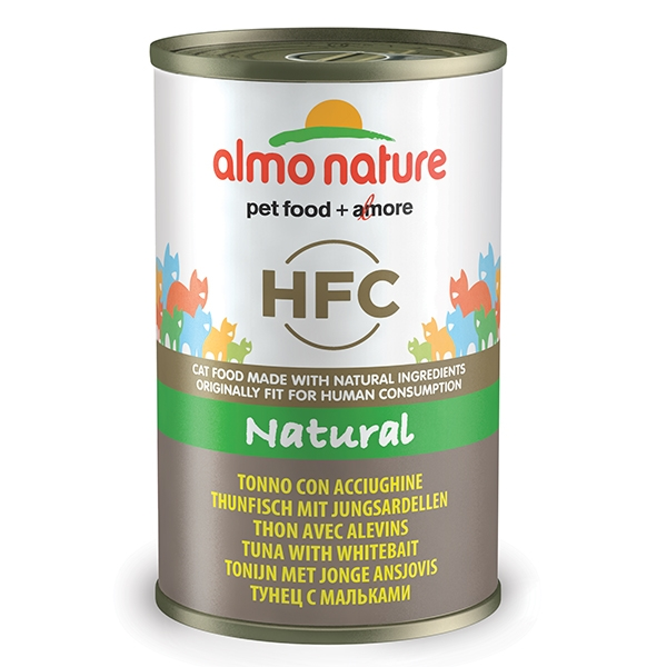 Almo Natural - Tonno con Acciughine  140 g