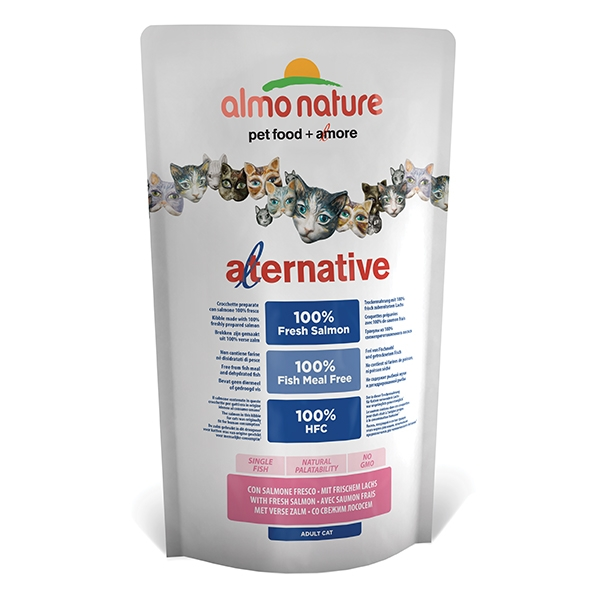 Almo Alternative Salmone e Riso  750 g