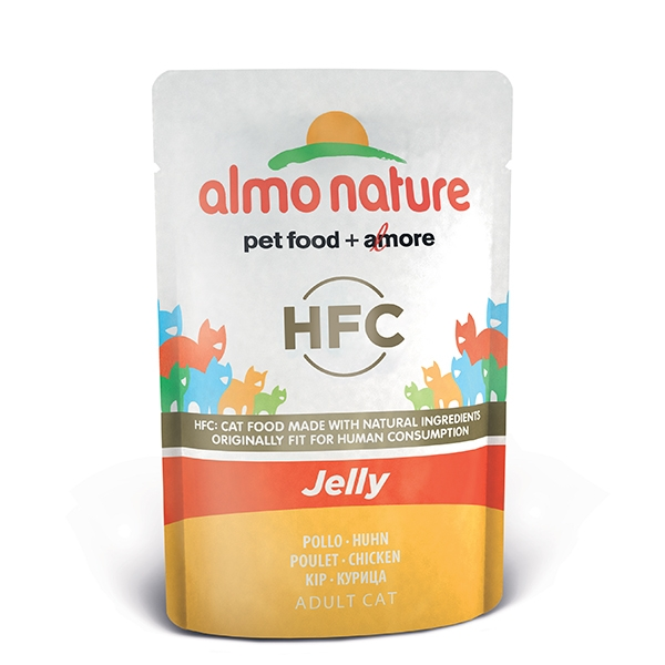 Almo Jelly - con Pollo  55 g