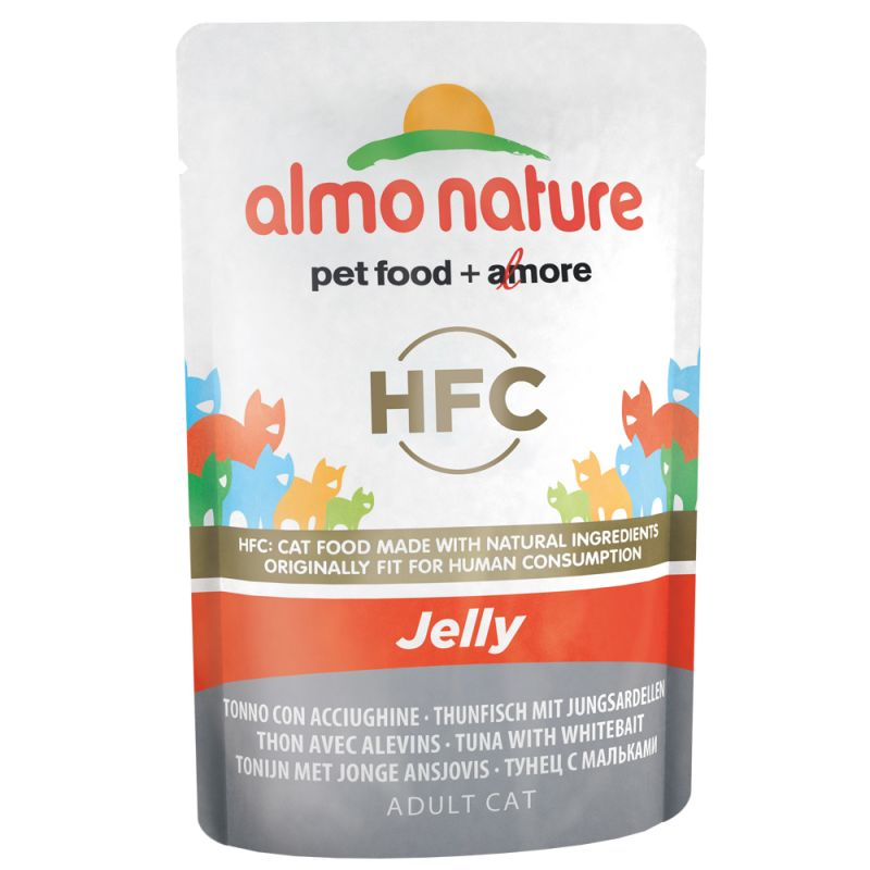 Almo Jelly - con Tonno e Acciughine  55 g