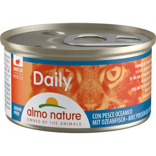 Almo Daily mousse con Pesce Oceanico  85 g