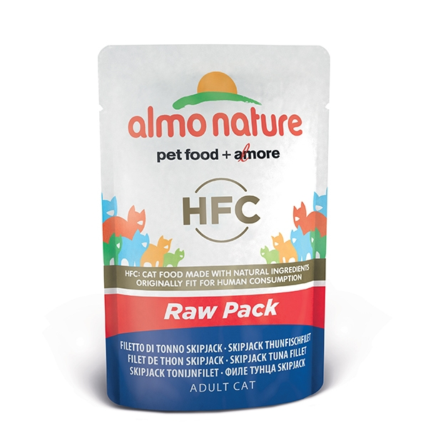 Almo Raw Pack - Filetto di Tonno Skip Jack  55 g