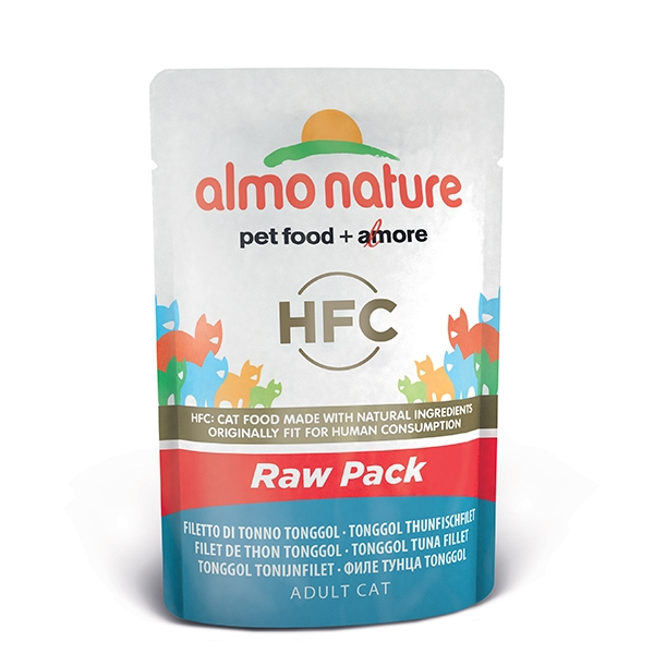 Almo Raw Pack - Filetto di Tonno Tonggol  55 g