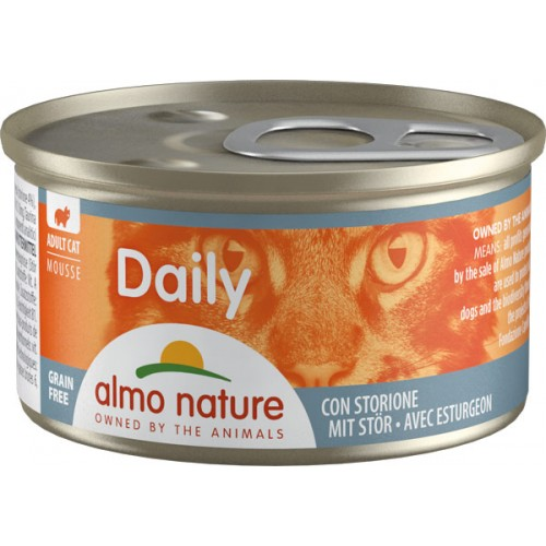 Almo Daily mousse con Storione  85 g