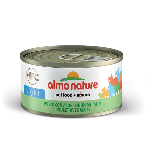 Almo Light - Pollo con Aloe  70 g