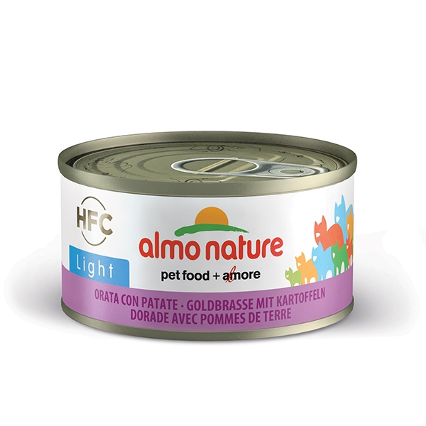 Almo Light - Orata con Patate  70 g