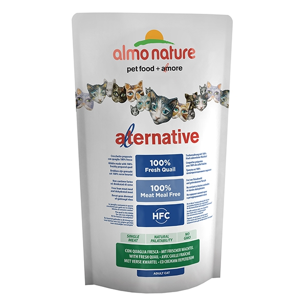 Almo Alternative Quaglia e Riso   750 g