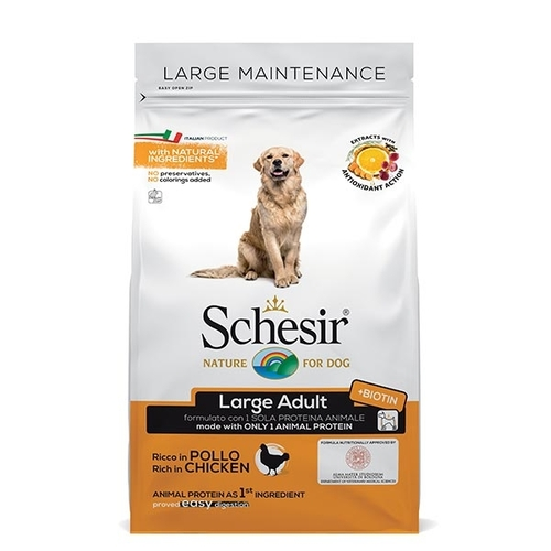 Schesir Dog Large Mantenimento Pollo 3 kg