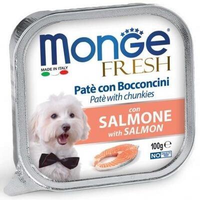 Monge Fresh Cane Salmone 100 gr