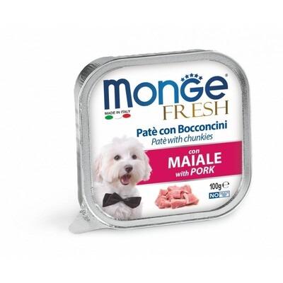 Monge Fresh Cane Maiale 100 gr