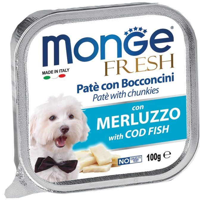 Monge Fresh Cane Merluzzo 100 gr