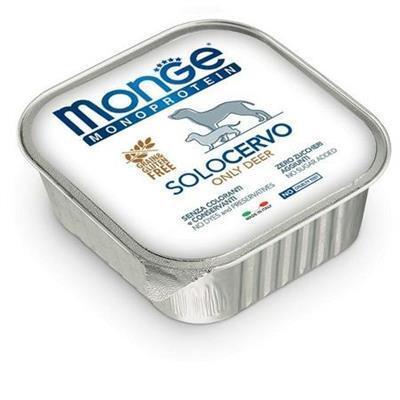Monge Cane Solo Cervo 150 gr