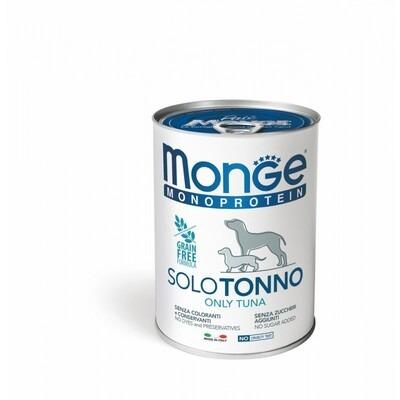 Monge Cane Solo Tonno 400 gr