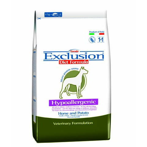 Exclusion Diet Hypoallergenic Medium/Large Cavallo e Patate 12,5 kg