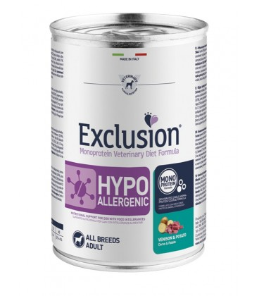 Exclusion Diet Hypoallergenic Cervo e Patate 400 gr
