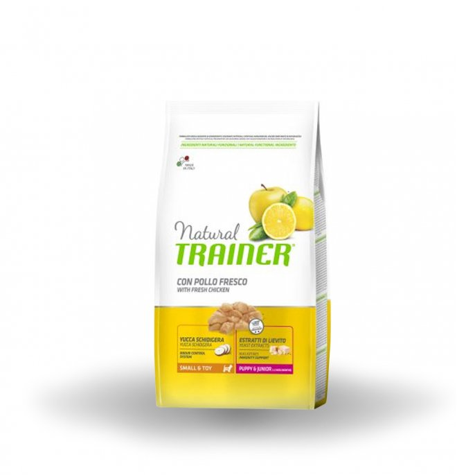 Trainer Natural Dog Small & Toy Puppy & Junior Pollo Fresco	800g