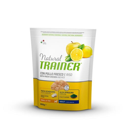 Trainer Natural Dog  Small & Toy Pollo e Riso	800g