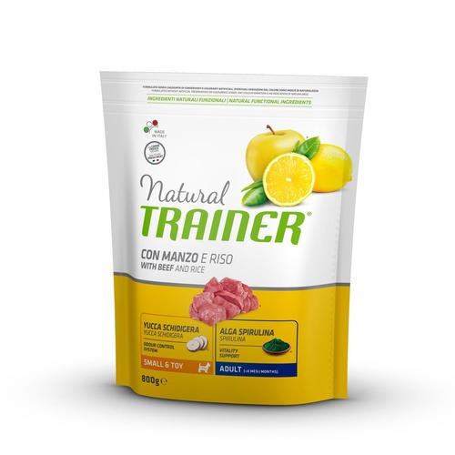 Trainer Natural Dog  Small & Toy Manzo e Riso	800g