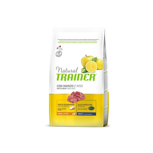 Trainer Natural Dog  Small & Toy Manzo e Riso	2kg