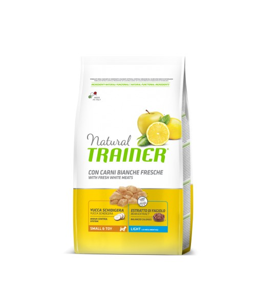 Trainer Natural Dog  Small & Toy Light Carni bianche fresche  	2kg