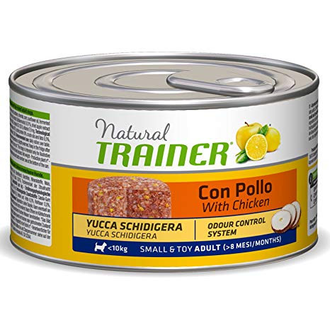 Trainer Natural Dog Adult Small & Toy Pollo e Riso 150gr