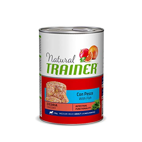 Trainer Natural Dog Medium Adult Pesce e Riso 400gr