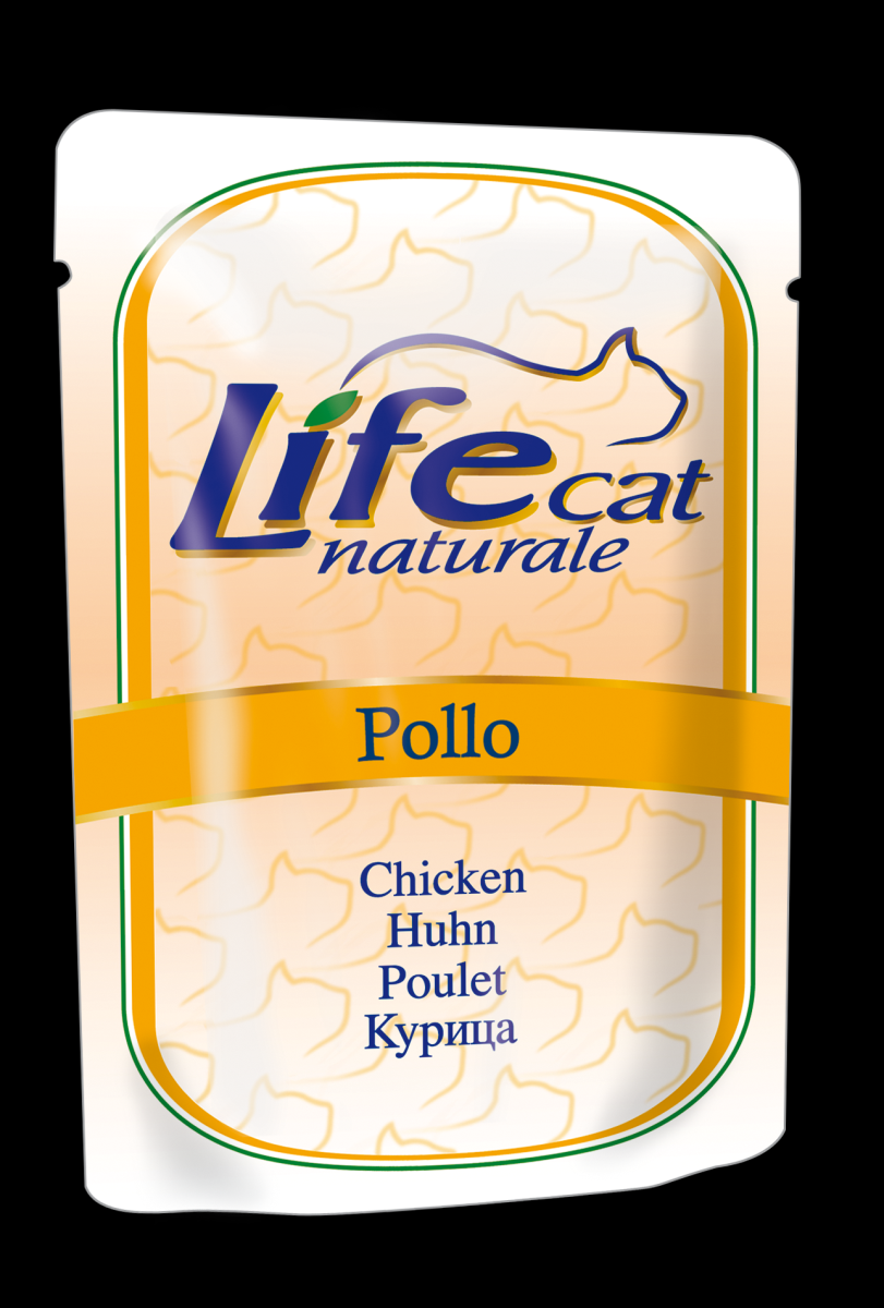 LIFE CAT NATURAL POLLO ( BUSTE )  70gr