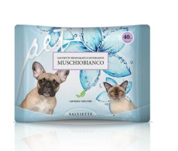 Derbe Salviette Detergenti Fragranza Muschio Bianco