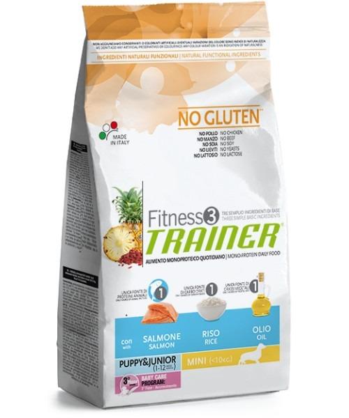 Trainer Fitness3 Puppy & Junior Mini Salmon& Rice2kg
