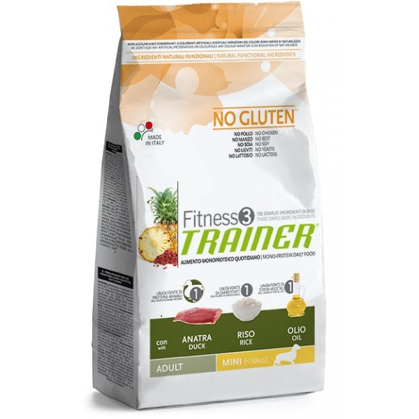 Trainer Fitness3 Adult Mini Duck & Rice 7,5 kg