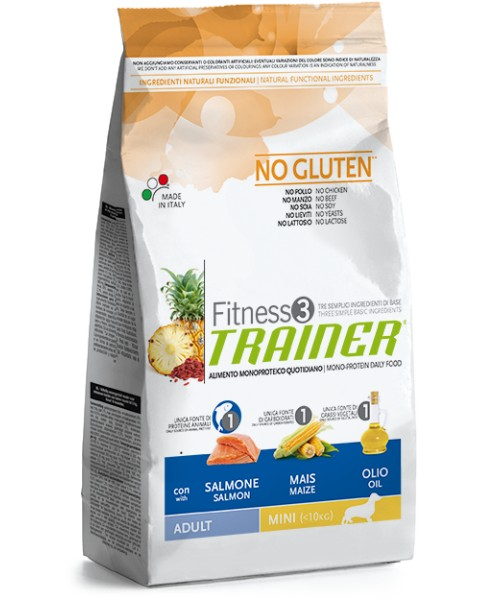 Trainer Fitness3 Adult Mini Salmon & Maize	800gr