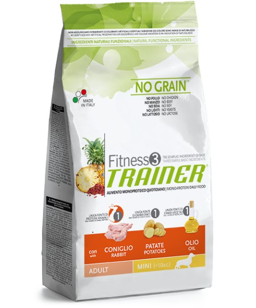 Trainer Fitness3 Adult Mini Rabbit & Potatoes2kg